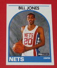 # 341 BILL JONES NEW JERSEY NETS 1989 NBA HOOPS BASKETBALL CARD