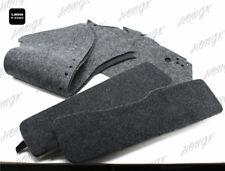 Rigide Sacoches de Selle Tapis Revêtement Set For All Harley Davidson Touring