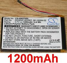 Battery 1200mAh type 361-00064-02 EE06HE10E00EF For Garmin Nuvi 3790T