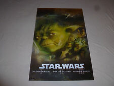 Star Wars 2011 Trends Aotc Rots The Phantom Menace Yoda Poster Sith Clones >1448