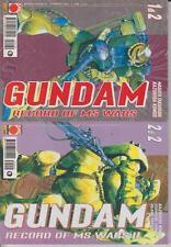 GUNDAM -RECORD OF MS WARS II -1 e 2 - MINISERIE COMPLETA - PLANET MANGA