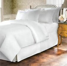 Belles and Whistles white 400 Thread Count Cotton California King Bed Skirt