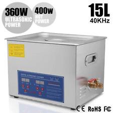 Ultraschallreinigungsgerät 15l Ultraschallreiniger Ultrasonic Cleaner mit Korb C