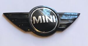 MINI Car Rear Boot ABS 3D Black Badge- ONE - WORKS - COOPER