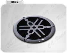 Adesivo Resinato Stickers 3D YAMAHA 2,5 cm nero