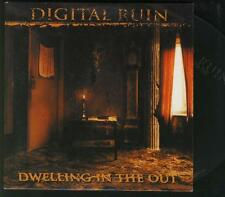 DIGITAL RUIN Dwelling in the Out METAL PROMO CD ALBUM **