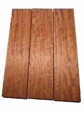 Bubinga geriegelt Rosenholz Tonholz curly 85x21cm 51mm