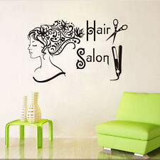 Hairdressing Decor Quote Vinyl Wall Decal Hair Salon Beauty Shop Wall Sticker