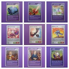 Panini Invizimals Hidden Challenges - Hunters/Vector/Habitat/Shield Card *New*