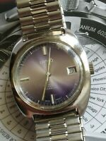 1970'S MENS LANCO 25 JEWELS AUTOMATIC DATE WRIST WATCH