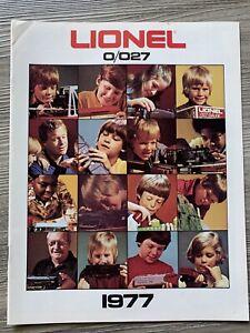 1977 Lionel O/O27 Model Train Catalog - Mickey Mouse Express K3