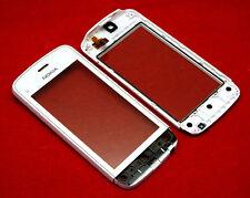 Original Nokia C5 C5-03 Touchscreen Digitizer Touch LCD Glas inkl. Rahmen Weiß