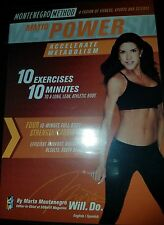Montenegro Method MM10 Power Workout Video [DVD] New and Sealed