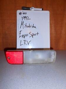 USED 1992 Mitsubishi Expo Sport LRV; Left Rear Bumper Light #441