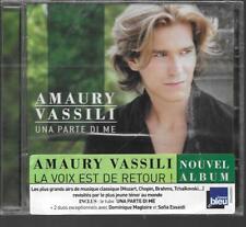CD ALBUM 13 TITRES--AMAURY VASSILI--UNA PARTE DI ME--2012--NEUF