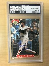 1994 Nabisco All Star Legends Frank Robinson Auto PSA / DNA Certified Authentic