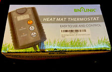 Bn-Link Digital Heat Mat Thermostat Controller 40-108°F, 8.3A 1000W Etl Listed