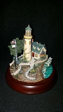 """Thomas Kinkade 2000 Guiding Lights Collection """"A Light in the Storm"""""""