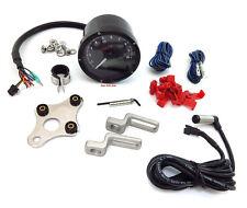 ★ Koso T&T Multi Function Speedometer Tachometer Indicator ★ Black ★ BA035K00 ★