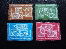 ROUMANIE - timbre yvert et tellier  aerien n° 162 a 165 n** (C5) stamp romania