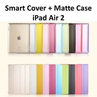 Magnetic Leather Smart Protective Cover Case Stand For Apple iPad Air 2 Lot