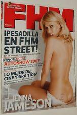 FHM # 36 / JENNA JAMESON DONNA FELDMAN LUCIA LAPIEDRA CARLA LA RESERVEE OASIS NM