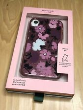 Kate Spade iphone XR case GALA FLORAL purple phone cover