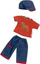 Puppen Kleidung Jeans Pullover Mütze für 40 cm Puppen Käthe Kruse Unterwegs