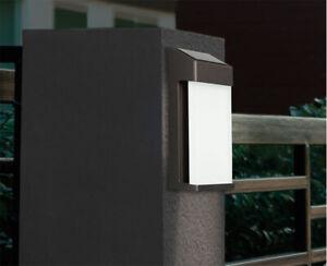 4 Pack  GTX Solar LED Post Lights - Garden / Home /Deck /Garage / Patio Lighting