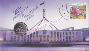 PNC Australia 2013 Parliament House 25th Anniversary RAM 20c Commemorative Coin