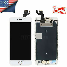 OEM iPhone 6S Plus Replacement LCD 3D Touch Screen +Rose Gold Button A1634 A1687