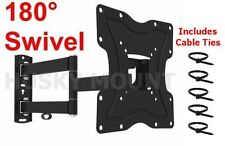 articulating TV Wall Mount Bracket Full Motion  LED LCD 24 26 32 38 40 42 Screen