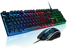 Gaming Keyboard And Mouse Set Adapter For PS4 PS3 Xbox One Xbox 360 Rainbow LED