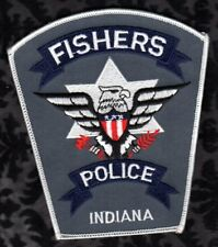 Fishers Indiana Police Shoulder Patch  Thunderbird