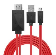 MHL Adapter Micro USB to HDMI Cable for Samsung Galaxy Note 3 2 S3 S4 S5 HTC ONE