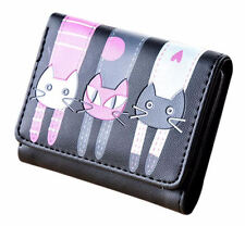 ** Women Ladies Cute CAT PURSE ** Wallet Clutch Handbags Coin ** Great Gift Idea