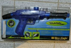 New Brass Eagle Blade Pump Action Paintball Marker Blue