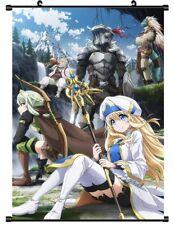 "Hot Japan Anime Goblin Slayer Priestess Art Poster Wall Scroll 8""x12"" F186"