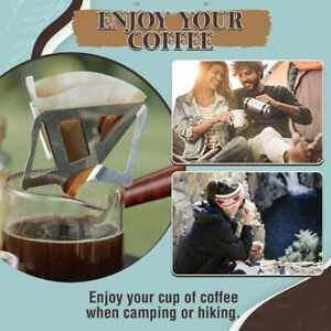 Steel Coffee Drip Rack Filter Accessories Coffee Filter Cup Funnel Filter Cup