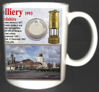 LITTLETON COLLIERY COAL MINE MUG LIMITED EDITION GREAT GIFT MINERS STAFFORDSHIRE