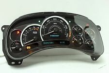 03 04 05 Cadillac Escalade Reman Instrument Panel Cluster 0 MILES $50 BACK