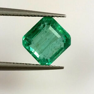Exclusive*Super top quality*Natural Untreated*Zambia Emerald 2.5 to 3.0 MM Faceted Round Cut Stone 13 Pcs Lot*Zambian Emerald*raregems