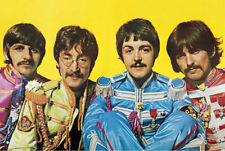THE BEATLES SGT PEPPERS LONELY HEARTS CLUB BAND POSTER 36x24 FREE SHIPPING