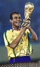 Cafu signed Brazil World Cup 12x8 Image A photo UACC Registered dealer