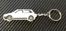 Fiat Uno Ie Turbo Car Key Anello - White