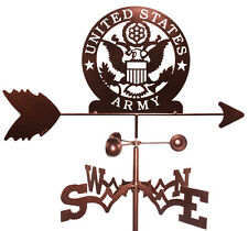 Us Army Weathervane (Roof Mounting Included)