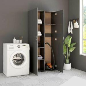 2 Door Storage Organizer Home Utility Cabinet Kitchen Bathroom Cupboard Shelves