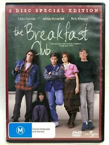 The Breakfast Club - 2 DVD Set - AusPost with Tracking