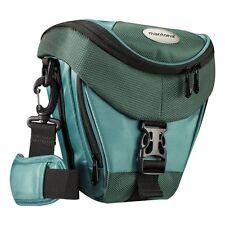 BAXXTAR Mantona Colt SLR Kameratasche dunkelgrün mit Staubschutz & Tragegurt