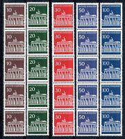 Bund 5er Streifen MiNr. 506-10 w R postfrisch MNH (G792